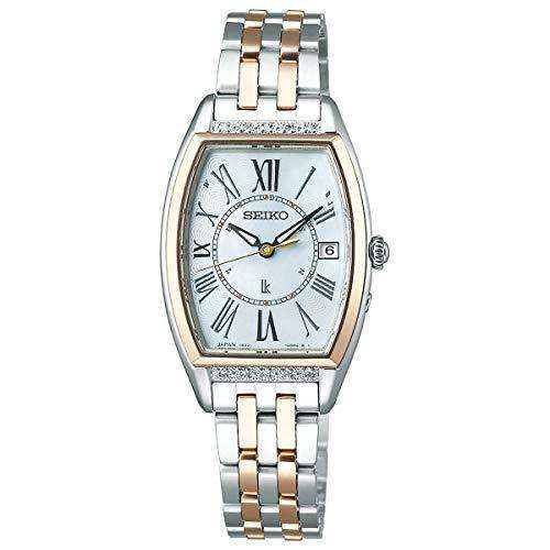 SEIKO LUKIA LADY COLLECTION SOLAR RADIO WAVE WOMEN WATCH SSVW180
