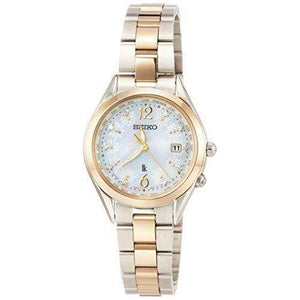 SEIKO LUKIA SUMMER EDITION SOLAR RADIO WAVE WOMEN WATCH (1000 LIMITED) SSQV074