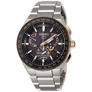 SEIKO ASTRON EXECUTIVE LINE SILVER MEN WATCH SBXB125