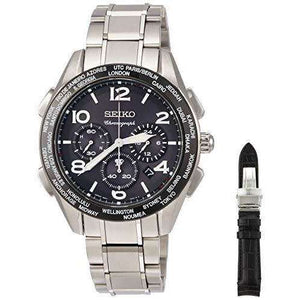 SEIKO BRIGHTZ SOLAR RADIO WAVE 20TH ANNIVERSARY LIMITED MODEL TITANIUM CHRONOGRAPH MEN WATCH (1000 Limited) SAGA295
