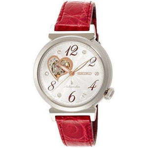 SEIKO LUKIA MECHANICAL RED WOMEN WATCH SSVM023