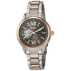 SEIKO LUKIA MECHANICAL SWAROVSKI CRYSTALS WOMEN WATCH SSVM054