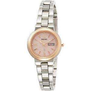 SEIKO LUKIA SOLAR DAY DATE WOMEN WATCH SSVN030