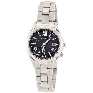 SEIKO LUKIA SOLAR RADIO WAVE SAPPHIRE GLASS WOMEN WATCH SSQV055
