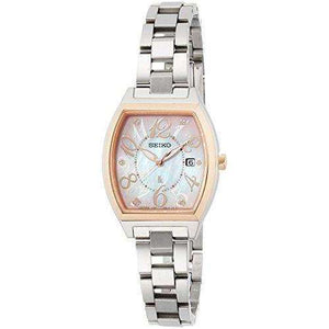SEIKO LUKIA SOLAR RADIO WAVE WOMEN WATCH SSVN026