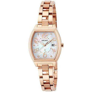 SEIKO LUKIA SOLAR RADIO WAVE WOMEN WATCH SSVN028