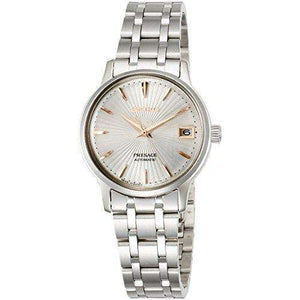SEIKO PRESAGE BASIC LINE SILVER DIAL WOMEN WATCH SRRY025