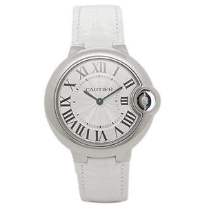 CARTIER BALLON BLEU SILVER DIAL WOMEN WATCH  W6920086 - ROOK JAPAN