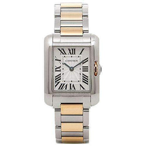 CARTIER TANK ANGLAISE ROSE GOLD 18K WOMEN WATCH W5310036 - ROOK JAPAN