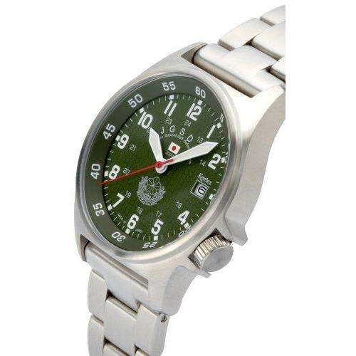 KENTEX JSDF STANDARD METAL BELT VERSION SILVER MEN WATCH S455M-09