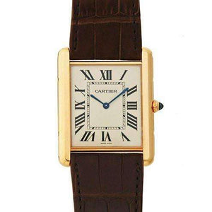 CARTIER TANK LOUIS CARTIER 18K ROSE GOLD MEN WATCH  W1560017 - ROOK JAPAN
