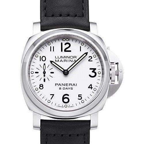 PANERAI LUMINOR MARINA 8 DAYS ACCIAIO - 44MM MEN WATCH PAM00563 - ROOK JAPAN