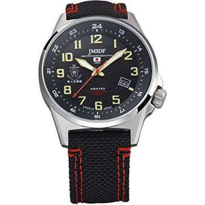 KENTEX JSDF STANDARD SOLAR MARINE PROFESSIONAL MODEL BLACK MEN WATCH S715M-03