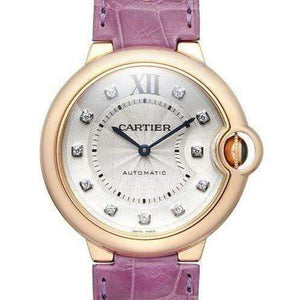 CARTIER BALLON BLEU ROSE GOLD 36 MM DIAL WOMEN WATCH WE902028 - ROOK JAPAN