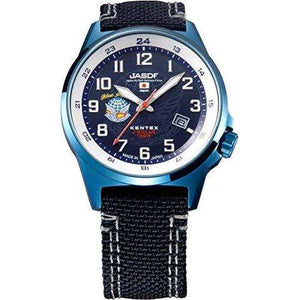 KENTEX JSDF STANDARD SOLAR AIR PROFESSIONAL MODEL BLUE MEN WATCH S715M-07
