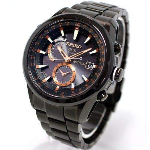 SEIKO ASTRON SOLAR GPS TITANIUM MEN WATCH SAST001 - ROOK JAPAN