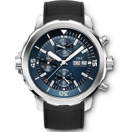 IWC AQUATIMER CHRONOGRAPH BLUE EDITION MEN WATCH IW376805
