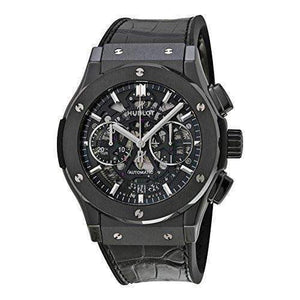 HUBLOT CLASSIC FUSION CHRONOGRAPH BLACK MAGIC  45 MM MEN WATCH 525.CM.0170.LR - ROOK JAPAN