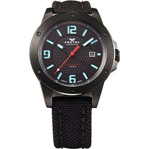 KENTEX LANDMAN ADVENTURE DATE BLACK MEN WATCH S763X-01