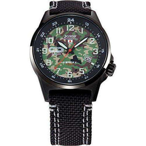 KENTEX JSDF GROUND PROFESSIONAL CAMOUFLAGE MODEL BLACK MEN WATCH S715M-08