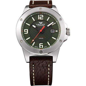 KENTEX LANDMAN ADVENTURE DATE BROWN MEN WATCH S763X-02