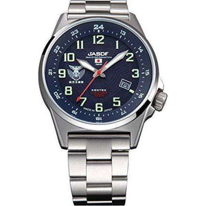KENTEX JSDF STANDARD SOLAR AIR PROFESSIONAL MODEL SILVER MEN WATCH S715M-05
