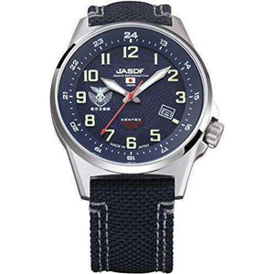 KENTEX JSDF STANDARD SOLAR AIR PROFESSIONAL MODEL BLUE MEN WATCH S715M-02