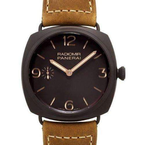 PANERAI RADIOMIR COMPOSITE BLACK SEAL 3 DAYS AUTOMATIC - 45MM MEN WATCH  PAM00504 - ROOK JAPAN
