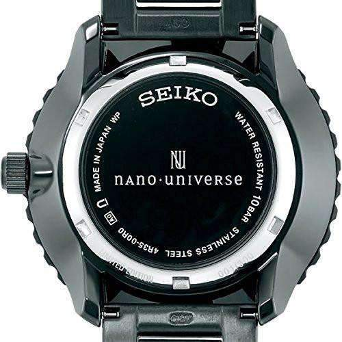 SEIKO SPIRIT SMART MECHANICAL NANO UNIVERSE WATCH ( 1,000 limited ) SCVE025 - ROOK JAPAN