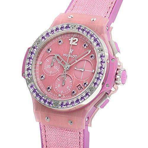 HUBLOT BIG BANG PURPLE LINEN 41 MM WOMEN WATCH 341.XP.2770.NR.1205 - ROOK JAPAN