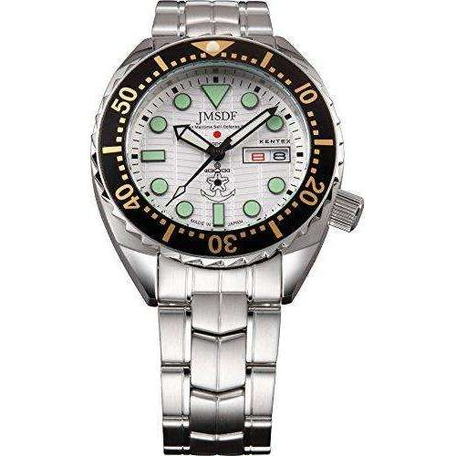 KENTEX JSDF MARINE PROFESSIONAL MODEL SILVER MEN WATCH S649M-01