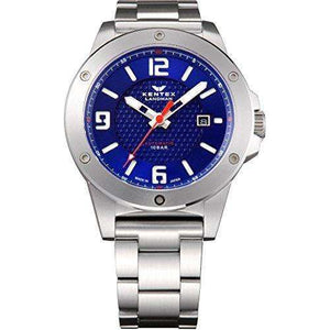 KENTEX LANDMAN ADVENTURE DATE SILVER MEN WATCH S763X-03