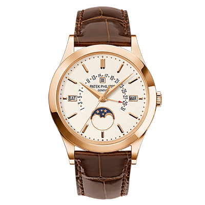 PATEK PHILIPPE GRAND COMPLICATIONS RETROGRADE 39 MM ROSE GODL MEN WATCH 5496R-001 - ROOK JAPAN