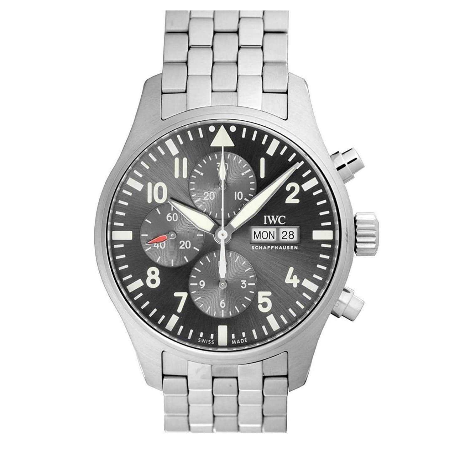 IWC PILOT'S CHRONOGRAPH SPITFIRE MEN WATCH IW377719 - ROOK JAPAN