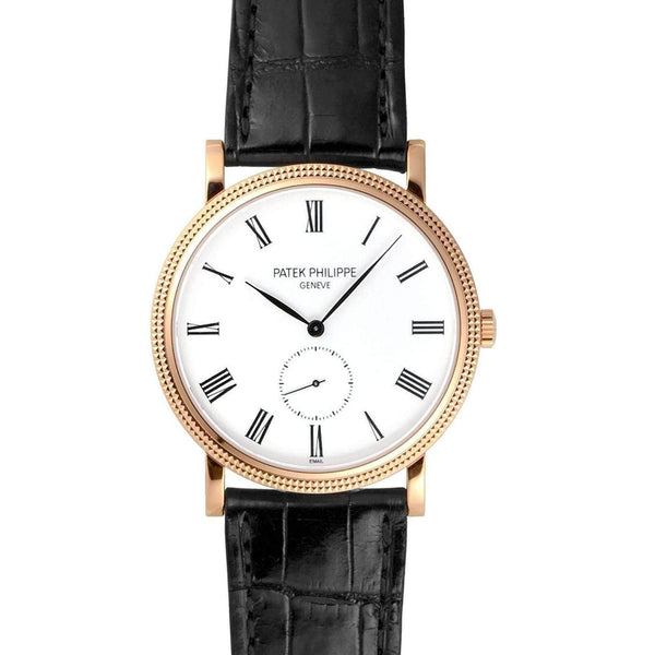 PATEK PHILIPPE CALATRAVA 18K ROSE GOLD MEN WATCH  5116R-001 - ROOK JAPAN