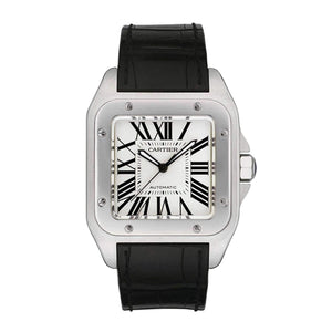 CARTIER SANTOS 100 XL AUTOMATIC MEN WATCH W20073X8 - ROOK JAPAN