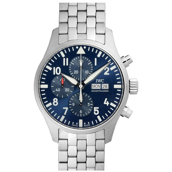 IWC PILOT'S CHRONOGRAPH BLUE LE PETIT PRINCE MEN WATCH IW377717 - ROOK JAPAN