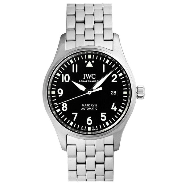 IWC PILOT'S MARK XVIII BLACK  MEN WATCH IW327011 - ROOK JAPAN
