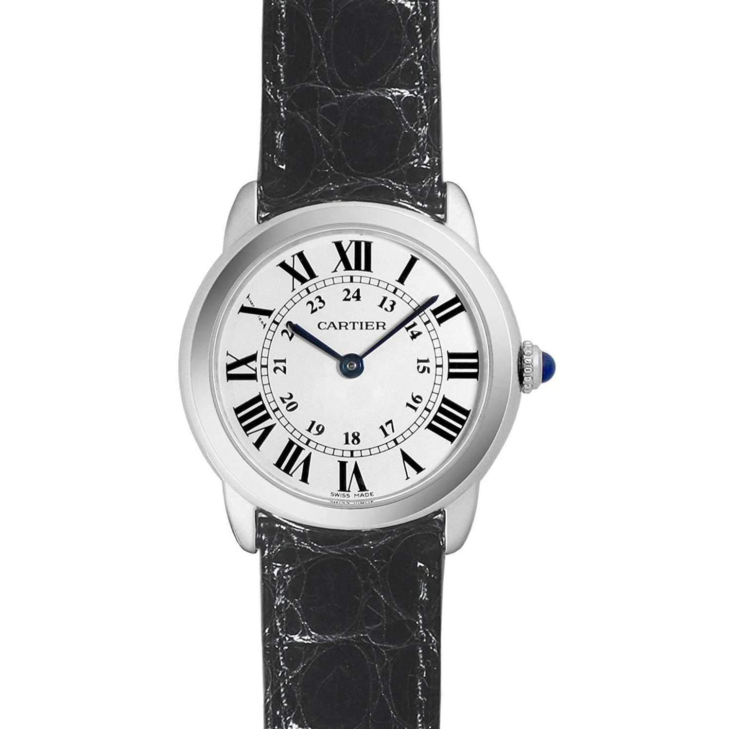 CARTIER RONDE SOLO DE CARTIER 29MM WOMEN WATCH W6700155 - ROOK JAPAN