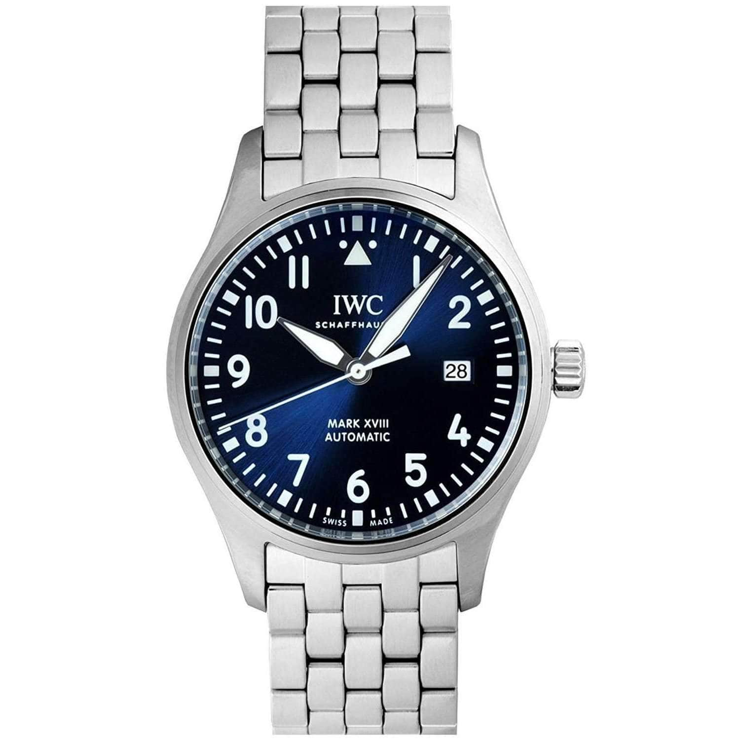 IWC PILOT'S MARK XVIII BLUE EDITION MEN WATCH IW327014