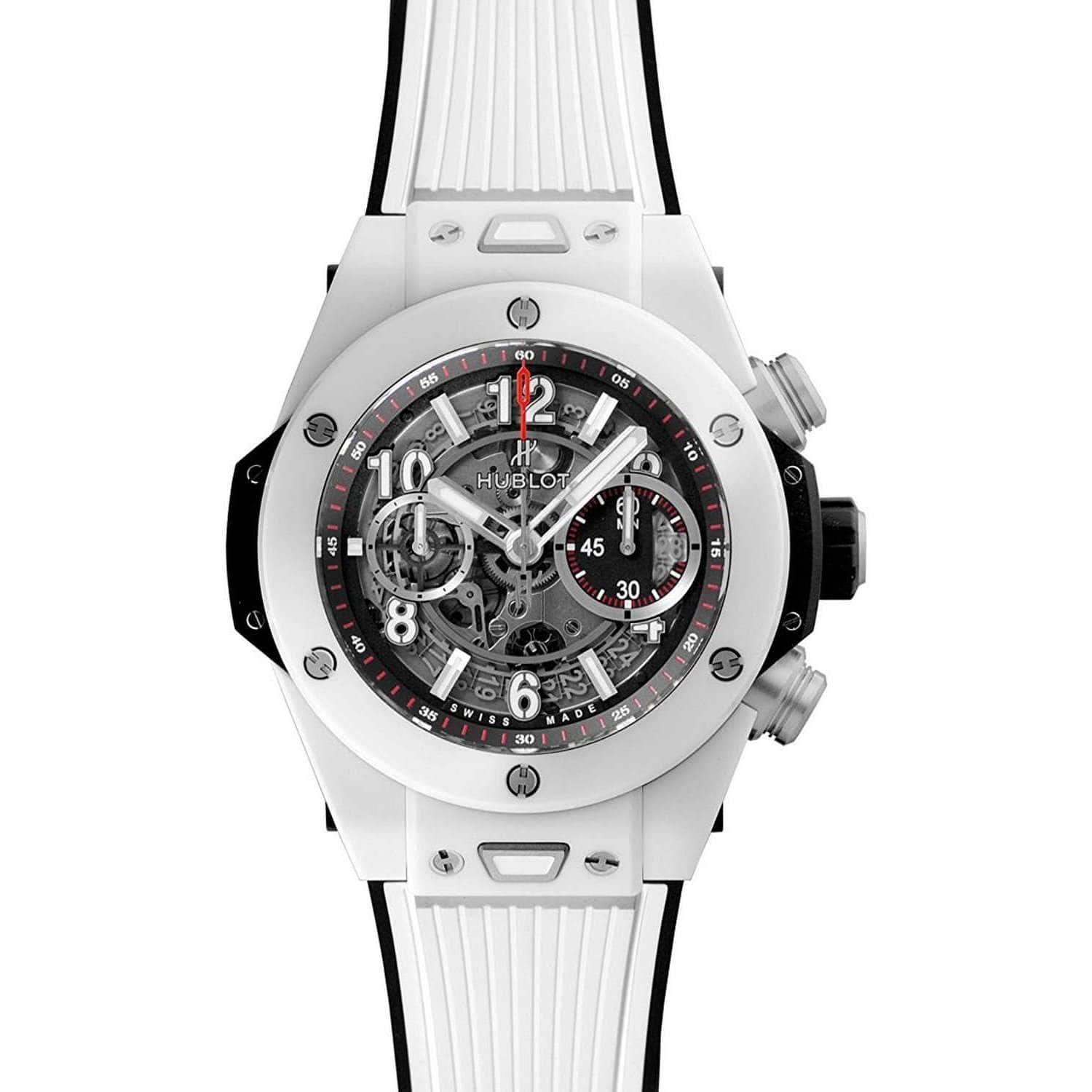 dial s chronograph emporio armani sportivo men watches with watch white rubber