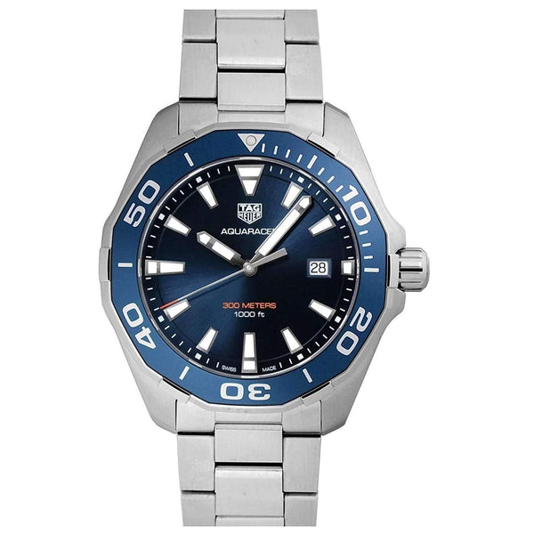 TAG HEUER AQUARACER BLUE DIAL MEN WATCH WAY101C.BA0746