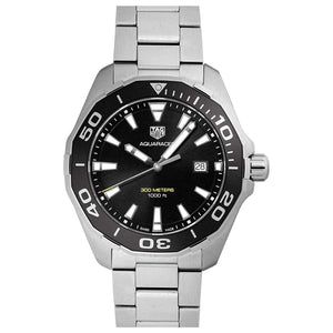 TAG HEUER AQUARACER BLACK DIAL MEN WATCH WAY101A.BA0746 - ROOK JAPAN
