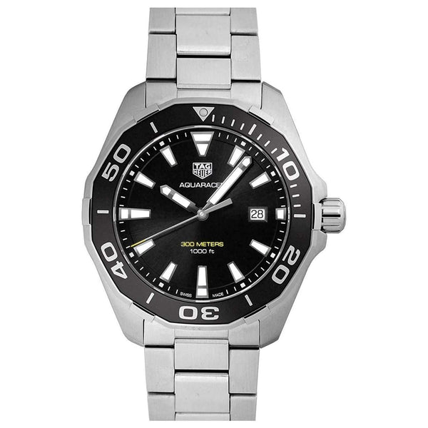TAG HEUER AQUARACER BLACK DIAL MEN WATCH WAY101A.BA0746