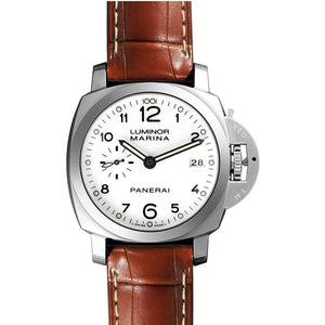 PANERAI LUMINOR MARINA 1950 3 DAYS AUTOMATIC ACCIAIO - 42MM MEN WATCH PAM00523 - ROOK JAPAN