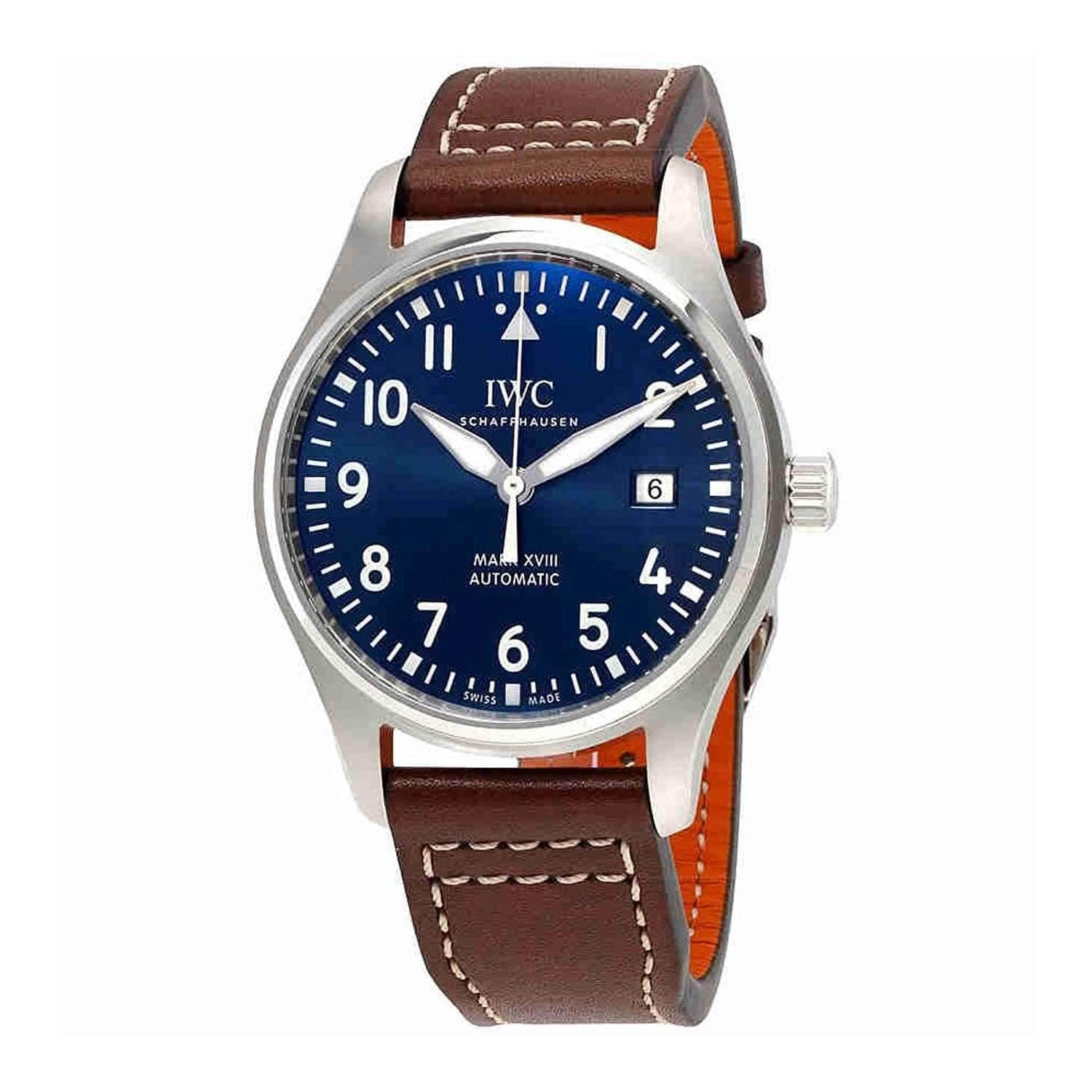 IWC PILOT'S MARK XVIII BLUE EDITION MEN WATCH IW327004 - ROOK JAPAN