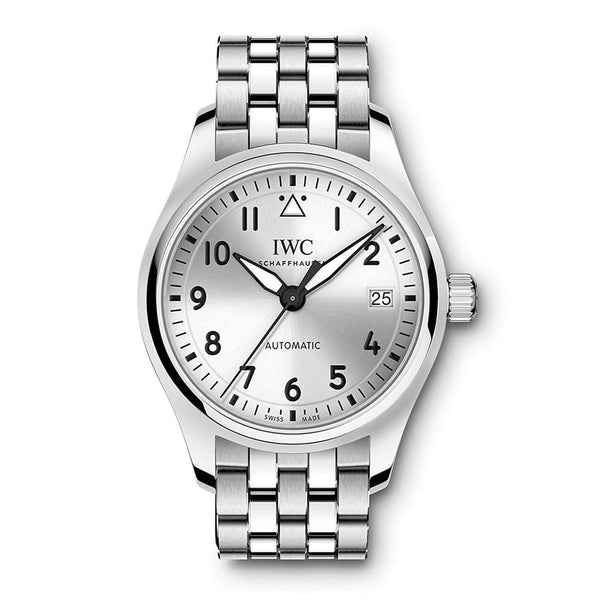 IWC PILOT'S AUTOMATIC SILVER MEN WATCH IW324006