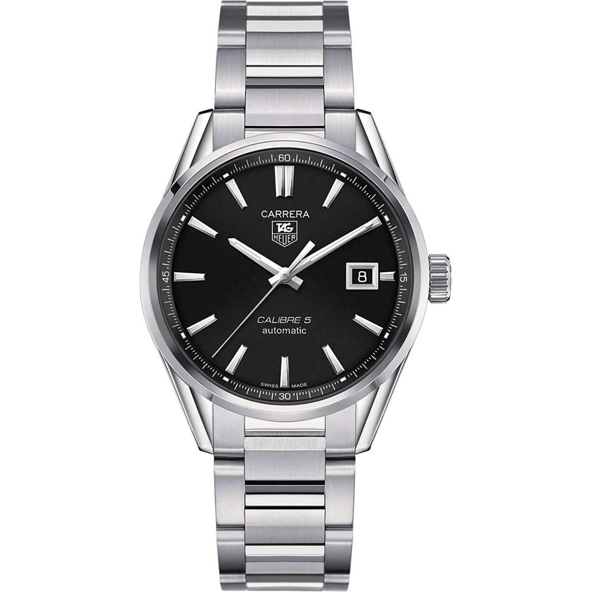 TAG HEUER CARRERA AUTOMATIC STAINLESS STEEL MEN WATCH WAR211A.BA0782 - ROOK JAPAN