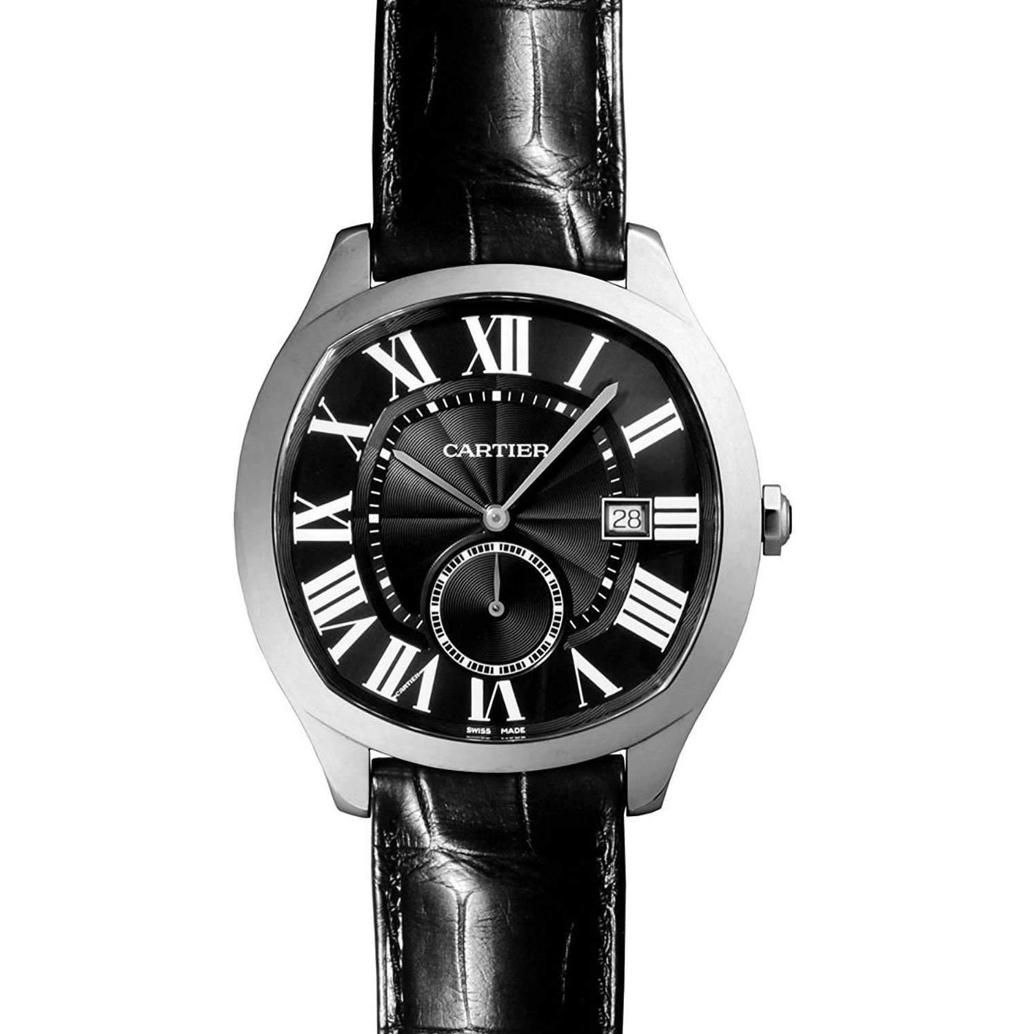 CARTIER DRIVE AUTOMATIC GREY DIAL MEN WATCH WSNM0009 - ROOK JAPAN