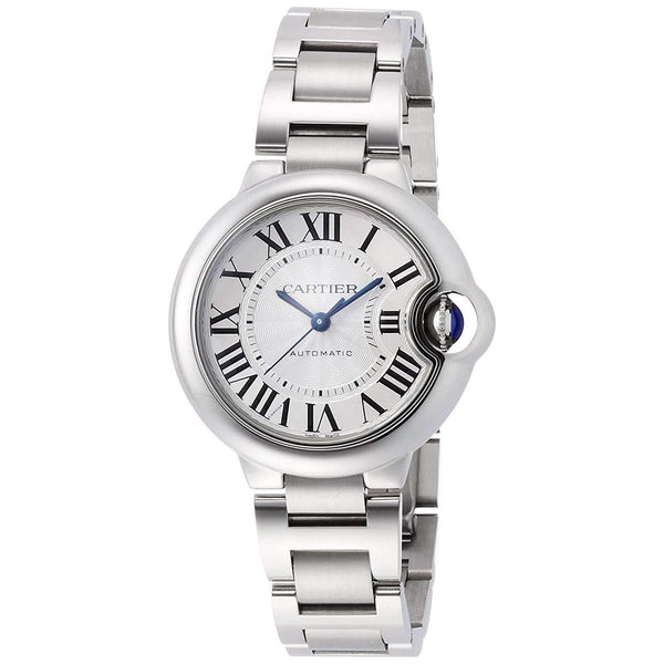 CARTIER BALLON BLEU SILVER DIAL WOMEN WATCH  W6920071 - ROOK JAPAN
